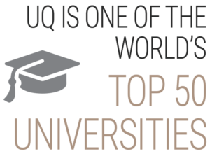 UQ is one of the world's top 50 universities